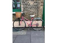 Peugeot Monte Carlo Ladies Town bicycle. Small, lightweight, very comfortable to ride.