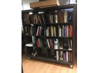 Two Black Bookcases £50 *collection only*