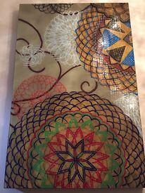 Art large glass prints