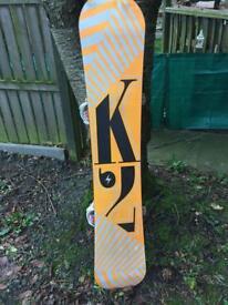 K2 snowboard 159cm