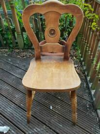 Lovely carved chair