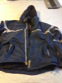 Bonfire snowboard jacket sz l/xl more