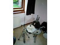 compact jazz kit, some restoration required