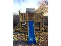 Children's Garden Play Wooden Climbing / Swing Frame