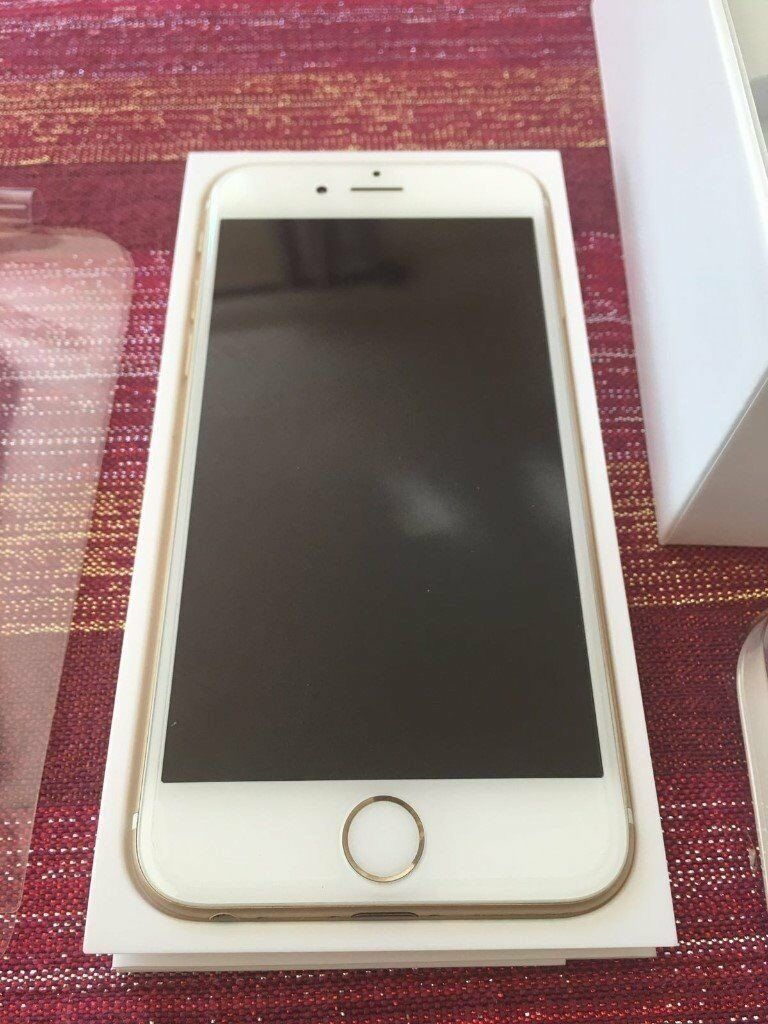 Apple iPhone 6 16GB White/Gold