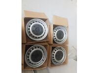 Mercedes steel wheels inc centre caps/bolts-KBA44544