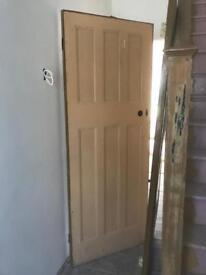 2 x original 1930s doors