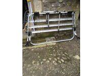 Genuine vw tailgate bike rack for t5