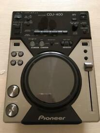Pioneer cdj 400 cdj400 single Dj deck USB compatible