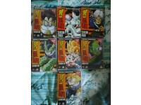 Dragon Balls Z (digitally remastered) DVDs, series 1,3,4,5,6,7 and 9