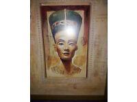 2 Large Egyptian Prints (Framed)