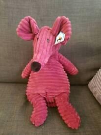 Cordy Roy Mouse Plum Jellycat