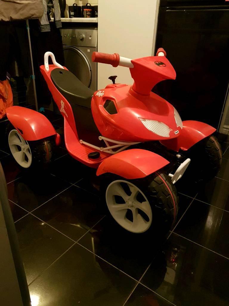 Kids age 3 and up Road ninja ride on quad