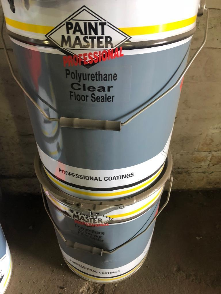Paint Master Polyurethane Concrete Floor Sealer (20L Drums) | in Linwood,  Renfrewshire | Gumtree