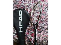 Squash Racket Head for intermediate good state