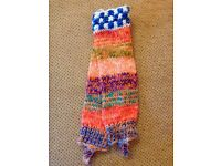 Peruvian handmade bright Leg warmer available for adults and children. Great gift! Feel free to view