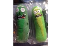 Pickle Rick Brand New Soft Toys (£5 each)