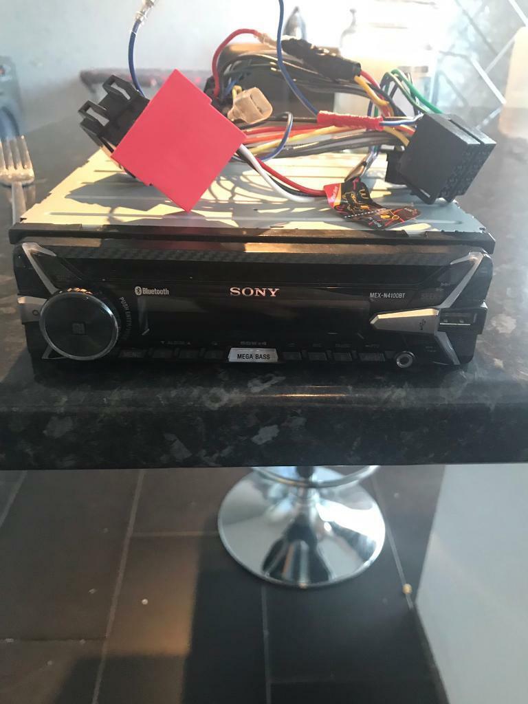 Sony Car Stereo - Bluetooth Usb Cd radio | in Nottingham, Nottinghamshire |  Gumtree