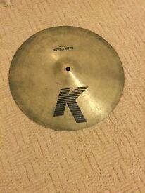 """Zildjian K 14"""" Dark Crash Cymbal"""