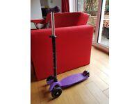 Micro Maxi Scooter Purple - Good Condition, Great Xmas Present