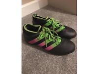 Adidas men's size 8 ace 17.3 Astro football boots £10 ip2