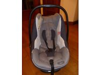 Bebecar Easybob Maxi Group 0+ Infant Car Seat (Which Recommended) with Sun Canopy and Head Support