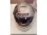 Ladies Nolan helmet hardly worn size XS