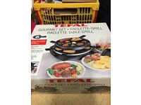 Raclette table grill