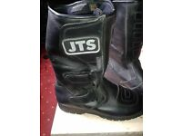motorcycle boots JTS Ladies size 5 contryman style motor cycle boots little use