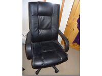 Igo massage & heat adjustable height office chair