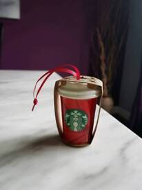 STARBUCKS CHRISTMAS ORNAMENT BRAND NEW!!