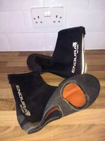 Mountain bike over shoes covers neoprene large