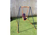 Hedstrom toddler/baby outdoor swing