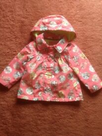 Baby/Child Raincoat with Hood 9 - 12 months plus