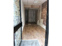 Business for sale / Shop to let / Empty shop to let / Retail shop to let / Art Studio to let