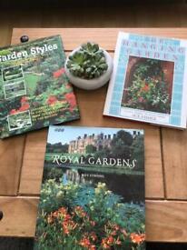 3 Hardback Gardening Books