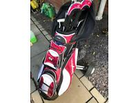 Ben Sayer M9 Golf Clubs, Trolley, Bag