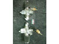 carburettors, dellorto phf32, left & right.
