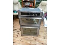 STOVES BUILT IN DOUBLE OVEN & GRILL