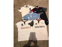 Boys Collection of designer Hackett polo shirts