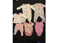 9lb baby girl clothes bundle