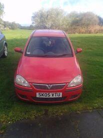 Vauxhall Corsa 1.3cdti 2005