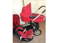 Quinny buzz Red All buggy pram