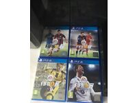 PS4 500gb with 9 Games and Box