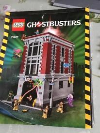Lego ghost busters firehouse