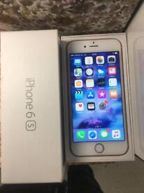 Very good condition rose gold 6s 16gb on Vodafone £155