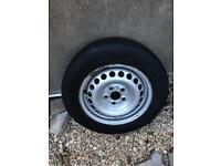 "Vw 16"" spare wheel fits t5 golf bora passat etc"