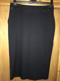 Black Skirt (Next) Size 10 - Never Worn