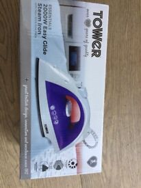 Tower Steam Easy Glide Iron. Brand new