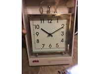 metal clock new in box great xmas gift